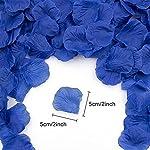 2500pcs dark blue rose petals, artificial flowers for decoration wedding party, valentine's day, honeymoon, anniversary