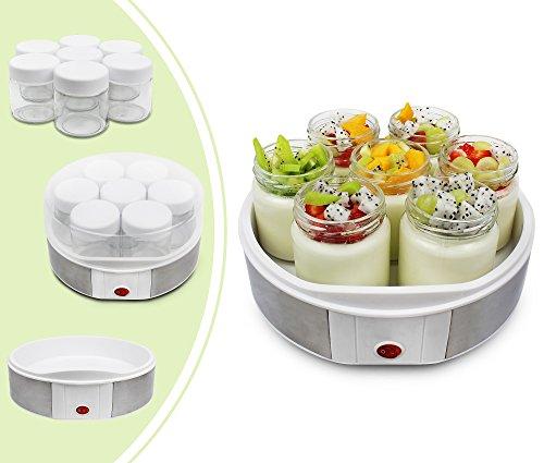 Yogurtera Leogren capacidad 1,5 litros con 6 tarros