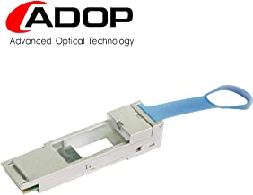QSA Adapter - 40G QSFP+ to 10G SFP+ Converter Module for Cisco CVR-QSFP-SFP10G, Mellanox MAM1Q00A-QSA-SP, Dell 407-BBRO, Juniper, Arista, Extreme and More.