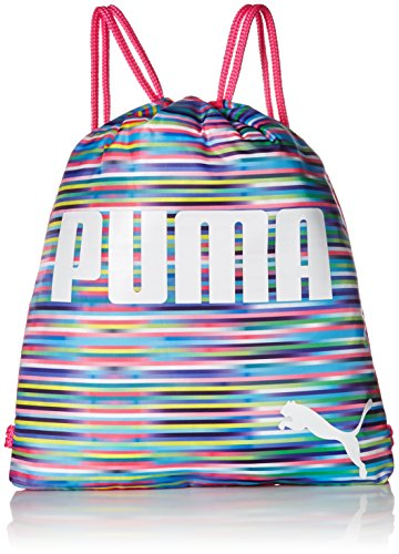 PUMA Girls' Big Evercat Advantage Reversible Carrysack, peach/pink, OS