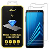 [2-Pack] QSEEL for Samsung Galaxy A8 Plus /A8+ (2018) Tempered...
