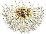 Fdgjff Lámpara de techo G9 Candelabro Fuegos artificiales modernos Luz de techo...