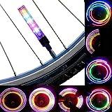 AOR Power Multicolor Bicycle Tire Valve Stem LED Cap Lights