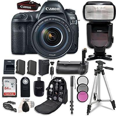 Canon EOS 5D Mark IV Digital SLR Camera Bundle by Canon