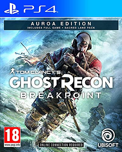 Tom Clancy's Ghost Recon Breakpoint Auroa Edition PS4 Game [Import Anglais]