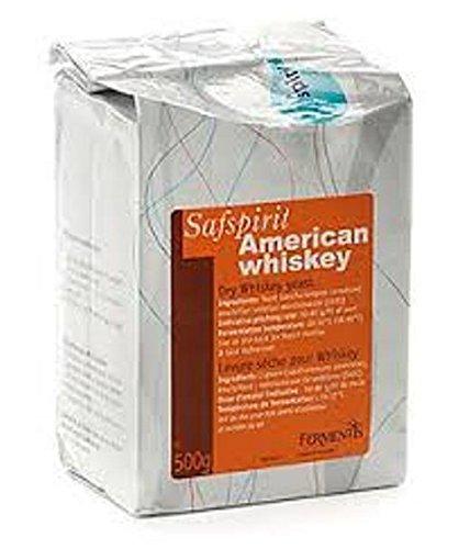 Fermentis Safspirit Dry Whiskey Yeast American Whiskey (USW-6) 500 Gram (1.1 LB) Brick
