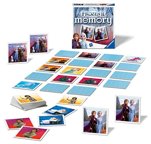 Ravensburger Frozen 2 Mini Memory For Kids Age 3 Years and Up - A Classic Picture Snap Matching Pairs Game