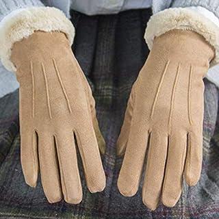 Guanti XiaoGao Cashmere Guanti Caldo Inverno e dinverno,Gray Ciclismo