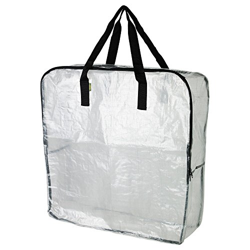 2 Stück – Extra große transparente Aufbewahrungstasche für Kleidung Aufbewahrung unter dem Bett Aufbewahrung, Garage Aufbewahrung, Recyclingbeutel