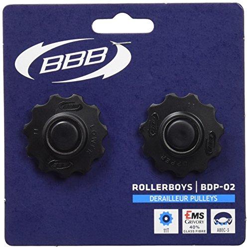 BBB RollerBoys BDP-02 Galet de dérailleur Noir 11 dents