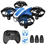 Holyton HS330 Hand Operated Mini Drone for Kids Beginners Adults -Remote Control Quadcopter with Altitude Hold, Throw to Go, Circle Fly, 3D Flip, 3 Speed Modes, 3 Batteries, Great Toy for Boys & Girls