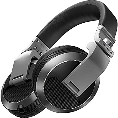 Pioneer Pro DJ, Silver, (HDJ-X7-S Professional DJ Headphone) from Pioneer Pro DJ