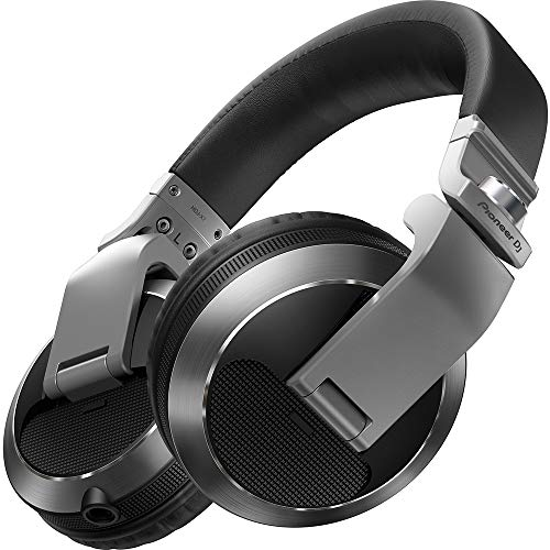 Pioneer - Auriculares Profesionales HDJ-X7 Silver Circumaural para DJ