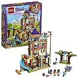 LEGO Friends Heartlake - Casa de la Amistad, Juguete de Construcción de Casa de Muñecas con Olivia, Emma, Andrea para Juegos Creativos (41340)