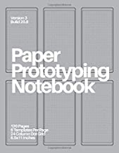 Paper Prototyping Notebook: (Steel Gray) Mobile Design Tool for UX Designers and Product Managers
