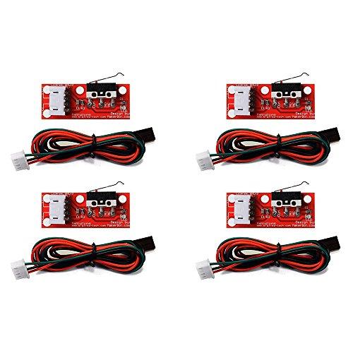 Redrex 4Pcs Meccanico Finecorsa Luce Controllo Finecorsa per RepRap Stampante 3D Makerbot Prusa Mendel CNC Arduino Mega 2560