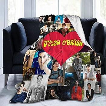 Dylan O Brien Flannel Soft and Warm Throw Blanket Xmas Birthday Gift 50x40 Inch