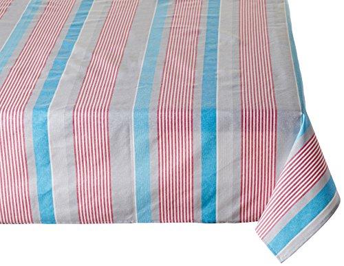 atenas home textile Mantel Textil Antimanchas con Doble Proteccion contra la Mancha - Modelo Weekend