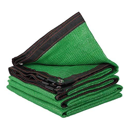 Sunblock Shade Cloth Net 90% tasa de sombreado para balcones de invernadero, resistente a los rayos UV, red de aislamiento térmico, 2*3m