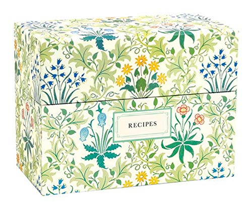 William Morris Recipe Box