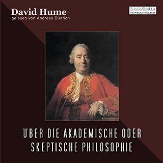 Über die Akademische oder Skeptische Philosophie Titelbild