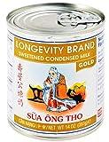 Longevity Sweetened Condensed Milk, Gold, 14 Oz. (Pack of 2)
