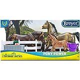 Breyer Classics 1/12 Model Horse Play Set - Pony Power