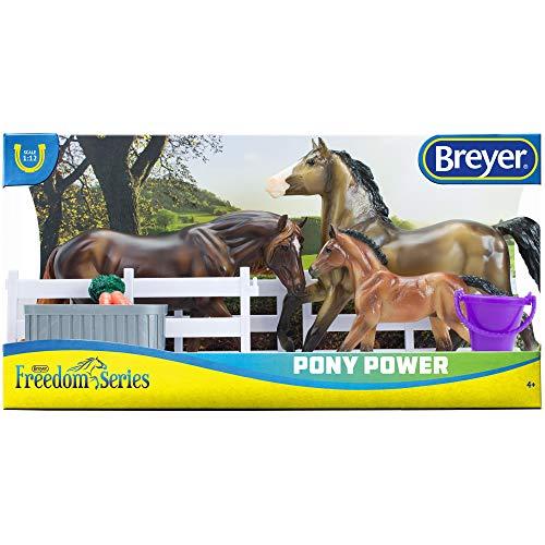 "Breyer Freedom Series (Classics) Barrel Racing Horse Playset   Model Horse Toy   1:12 Scale (Classics)   9"" L x 6"" H   Model #62201"