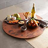 Native Trails Hammered Tempered Copper 30-inch Lazy Susan