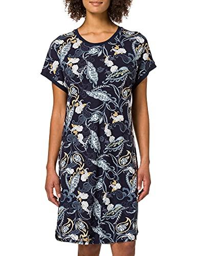 Schiesser Damen 1/2 Arm, 95cm Nachthemd, Nachtblau, 38