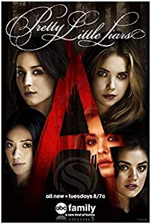 XuFan PosterCanvas Painting Wall Art Decoration Gift Wall Art Poster, Pretty Little Liars Poster Top Living Room Poster-50x70cmSin Marco