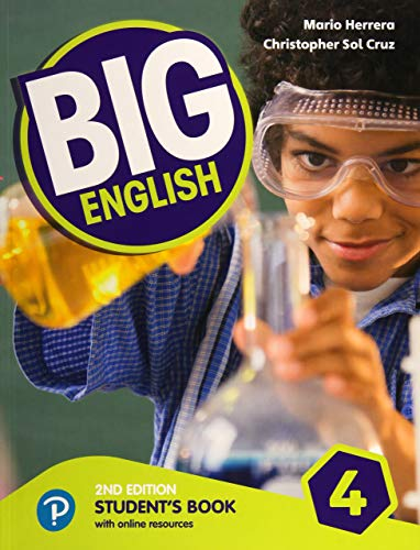 Big English 4 Student Book with Online Resources: Student's Book With Online Resources - American Edition