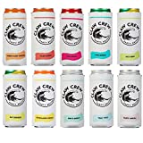 Claw Crew Party Slim Can Cooler Sleeves [10 Pack], Slim Can Holder Set, White Claw Insulator Can Holders, Slim Can Sleeves for White Claw