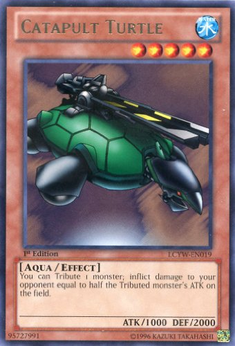 YU-GI-OH! - Catapult Turtle (LCYW-EN019) - Legendary Collection 3: Yugi's World - 1st Edition - Rare