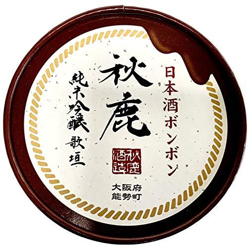秋鹿酒造 純米吟醸 歌垣 日本酒 ボンボン チョコレート chocolate 大阪 能勢町 の地酒蔵 秋鹿 日本酒使用