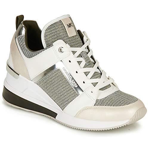 MICHAEL MICHAEL KORS GEORGIE EXTREME Sneakers dames Wit/Zilver Lage sneakers