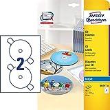 AVERY Zweckform J8676-25 CD-Etiketten weiß