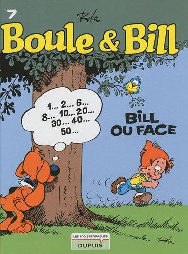 Boule & Bill, Tome 7 : Bill ou face