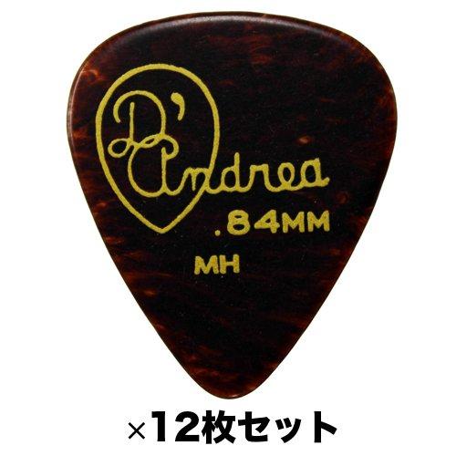 『D'Andrea RG351 .84MH 0.84 mm Medium Heavy ギターピック 12枚セット』のトップ画像