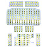 OPPLIGHT ハイエース LED ルームランプ トヨタ ハイエース200系 4型/5型 スーパーGL用 ホワイト 室内灯 専用設計 爆光 カスタムパーツ 200系ハイエース/レジアスエース200系(KDH200/TRH200系) 標準/ワイドボディ 4型/5型 LEDバルブ 内装パーツ 取付簡単 一年保証 (トヨタ ハイエース 用)