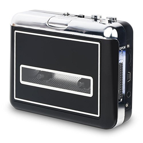 Rybozen USB Convertidor y Reproductor de Cinta casetes,Conve