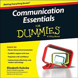 Communication Essentials for Dummies audiobook cover art