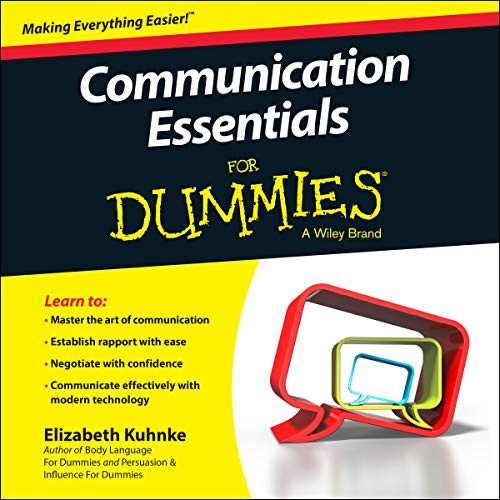 Communication Essentials for Dummies audiobook cover art