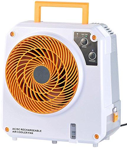 Sichler Haushaltsgeräte Mini Luftkühler: High-Power-Akku-Luftkühler mit Wasserkühlung, 26 Watt, 150 ml/Std. (Akku Klimagerät)