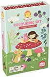 Fairy Colouring Set for Girls. Fairies Colouring Book Activity Set for Girls. Great travel activity packs for kids / Activity Book. Great Gifts for Girls 6 years old by Tiger Tribe