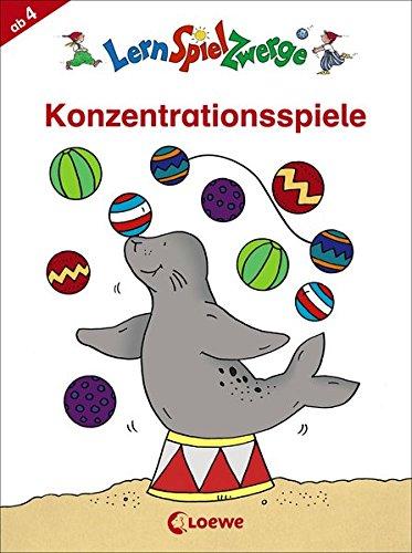 LernSpielZwerge - Konzentrationsspiele (LernSpielZwerge - Mal- und Rätselblocks)