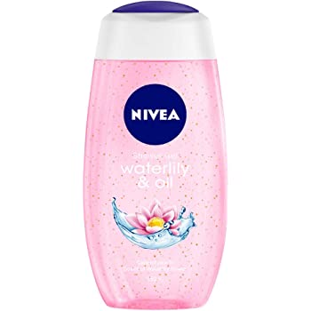 NIVEA Shower Gel, Water Lily & Oil Body Wash, Women, 250ml