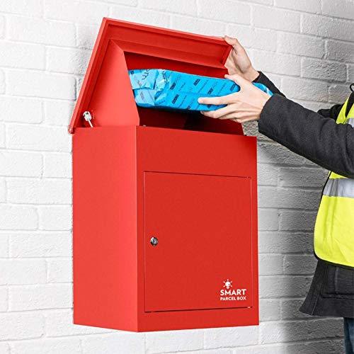 Paketbriefkasten Smart Parcel Box, rot