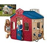 Little Tikes 444C00060 - Spielhaus Multi 4-in-1 (bunt)