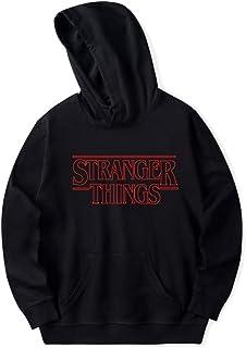 APHT Unisex Stranger Things Camiseta Hip Hop Sudadera con Ca
